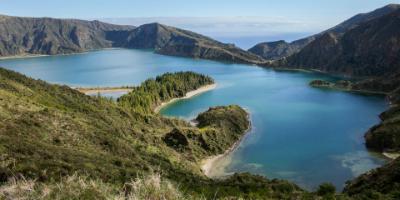 De eilanden van de Azoren